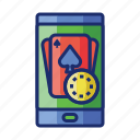 app, betting, casino, gambling, mobile icon