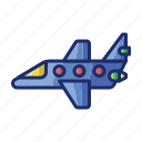 jet, plane, private, service icon