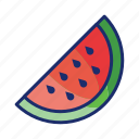 casino, fruit, gambling, slots, watermelon icon
