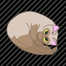 animal, cartoon, cat, cute, kitten, lovely, pet icon