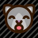 animals, cat, cute, emoji, emoticon, surprised, 猫 icon