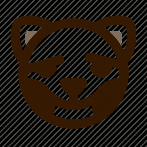 animal, avatar, blush, cat, cute, emoji, emoticon icon