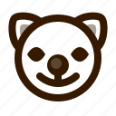 animal, avatar, cat, clown, cute, emoji, emoticon icon