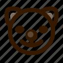 animal, avatar, cat, clown, cute, emoji, emoticon icon
