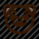 animal, avatar, cat, cute, devil, emoji, emoticon