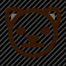animal, cat, cute, emoji, emoticon, face, neutral icon