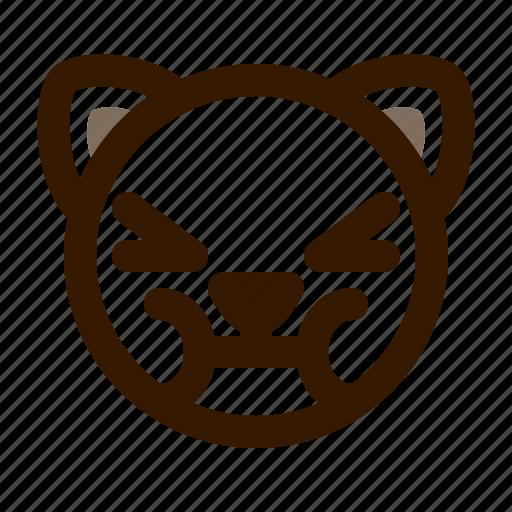 animal, avatar, cat, cute, emoji, emoticon, sick icon