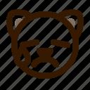 animal, avatar, cat, cute, emoji, emoticon, tear icon