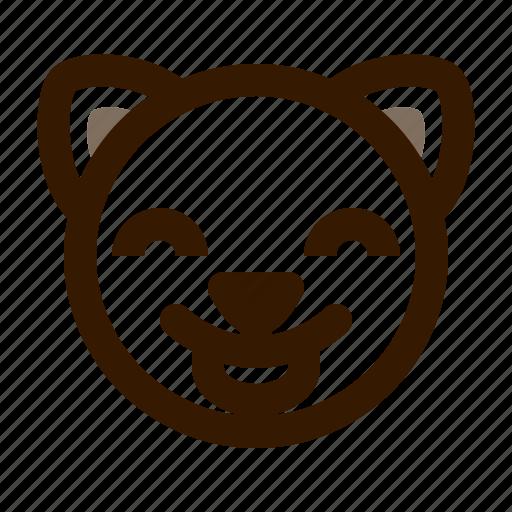 animal, avatar, cat, cute, emoji, emoticon, tongue icon