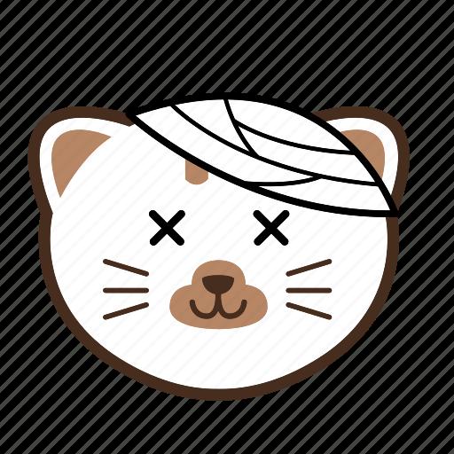 cat, emoticon, face icon