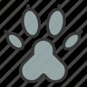 cat, cat paw, paw, pet icon