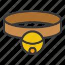 bell, cat, collar, pet icon