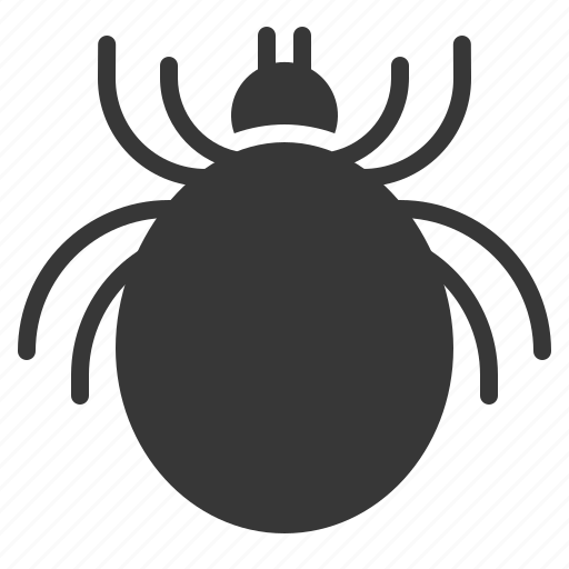 cat, flea, parasite, tick icon