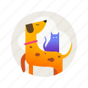 animals, cat, dog, kitty, pet, puppy, zoo icon
