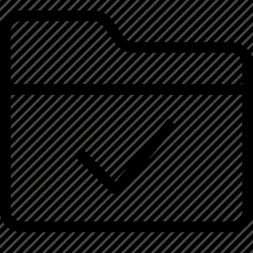 added, created, folder, folder check mark, folder synced, organize icon
