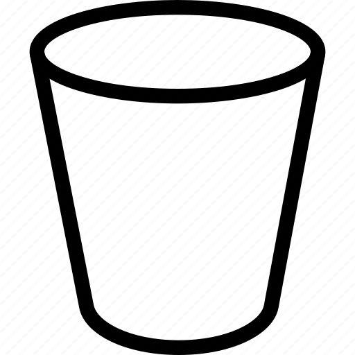 bin, bucket, carry, collection, container icon