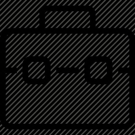 bag, briefcase, case, portfolio, suitcase, suitcase bag case icon