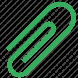 atach, attachment, clip, office, paperclip icon