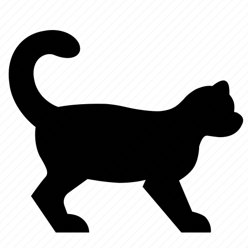 animal, dog, pet, side, view icon