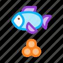 caviar, eggs, fish, marine, ocean icon