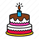 birthday, cake, dessert, party, wedding