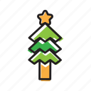christmas, decoration, holiday, tree, winter, xmas, xmass icon