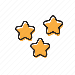 bulb, energy, favorite, idea, light, star, stars icon