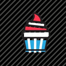 bakery, cake, cooking, cupcake, dessert, food, sweet icon