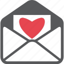 affection, letter, love, love letter, mail, romantic, sweet icon