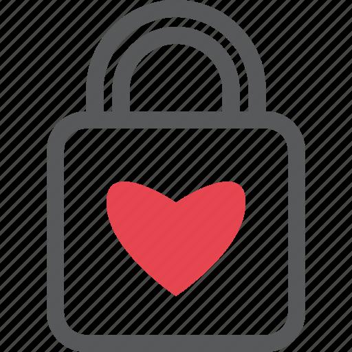 forever, lock, love, love lock, romantic, valentine icon