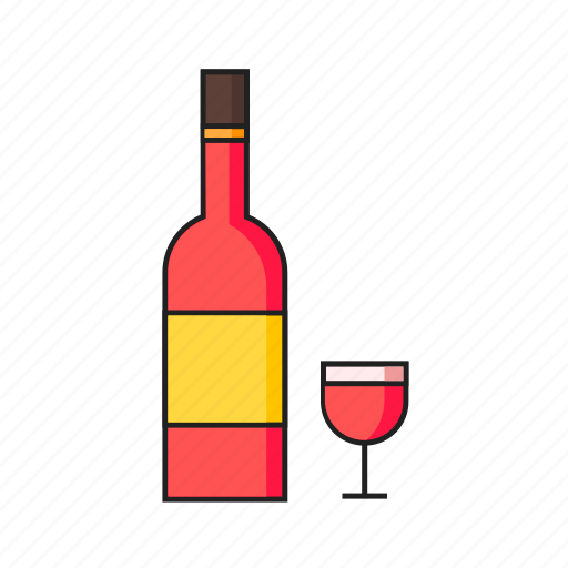 celebration, champagne, drink, party, wine icon