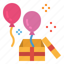 balloon, birthday, celebration, decoration, party