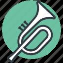 euphonium, french horn, horn, trombone, trumpet, tuba