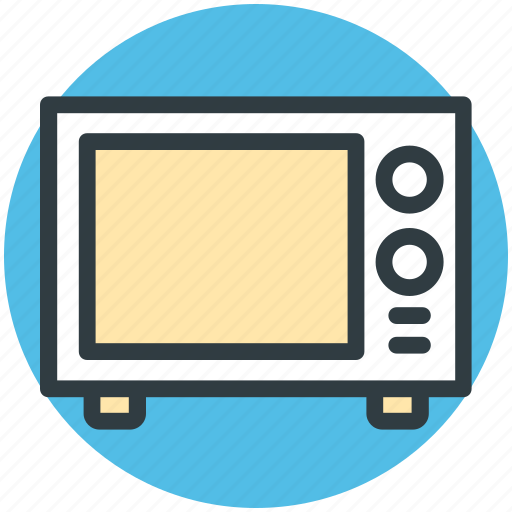 electronics, kitchen appliance, microwave, microwave oven, oven icon