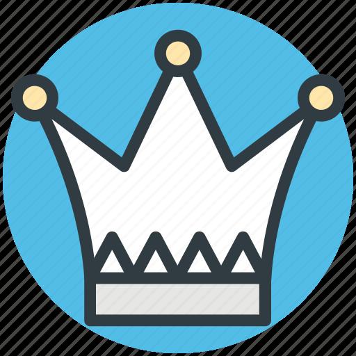 crown, headgear, nobility, royal, royal crown icon