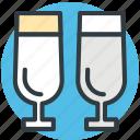 alcohol, champagne glasses, drinks, wine, wine glasses