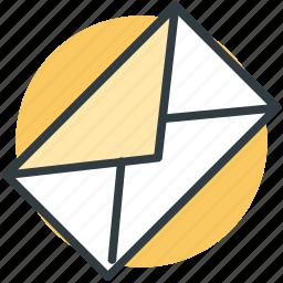 email, envelope, letter envelop, mail, message icon