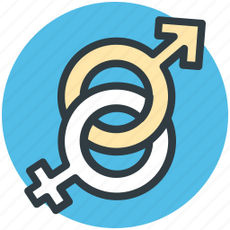 female gender, gender sign, gender symbols, heterosexual, male gender icon