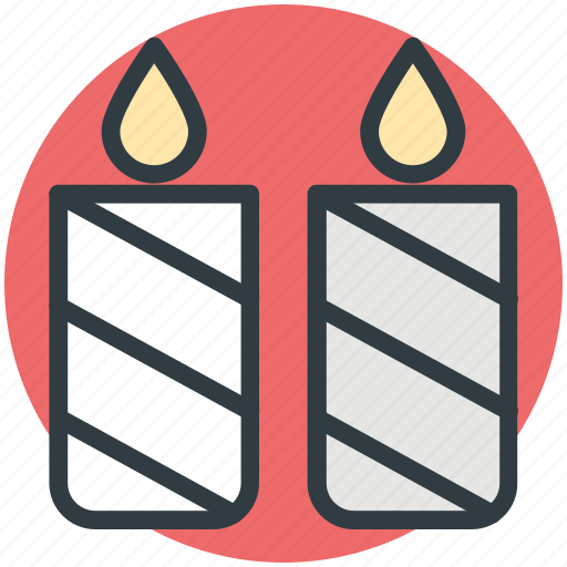 advent candle, candles, candles burning, christmas candles, decoration icon