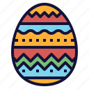celebration, decoration, easter, egg, painted