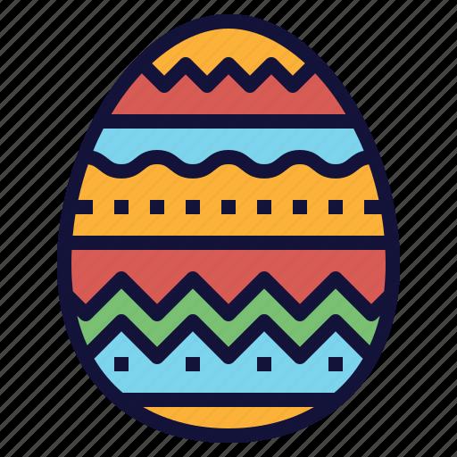 celebration, decoration, easter, egg, painted icon