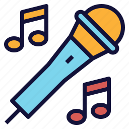 karaoke, mic, microphone, party, sing, song icon