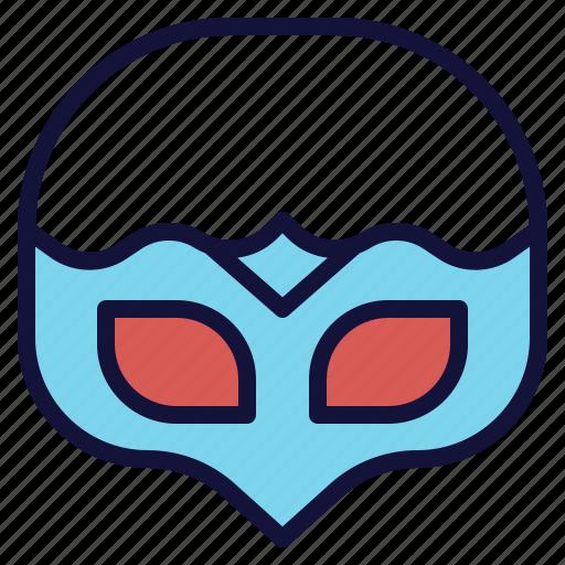 face, hide, mask, masquerade, party icon