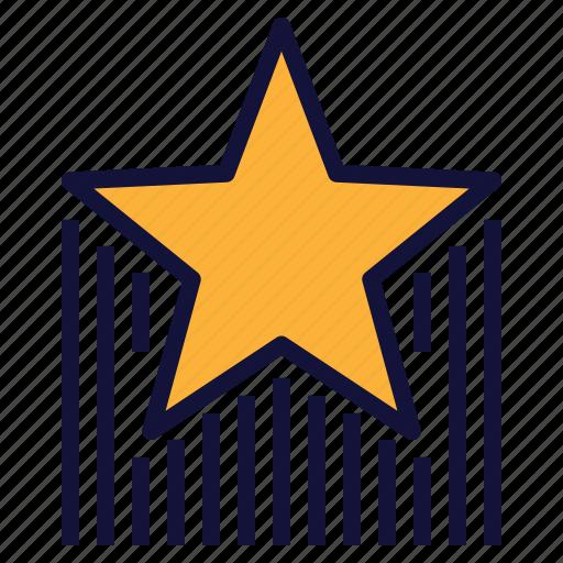 Award, celebration, raising, reward, star icon - Download on Iconfinder