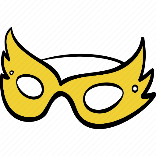 carnival, mask, new, theater, year icon