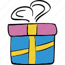 box, celebration, christmas, gift, package icon
