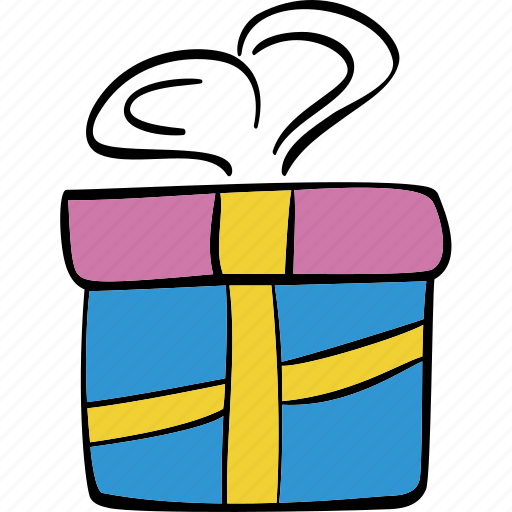 box, celebration, christmas, gift, package icon