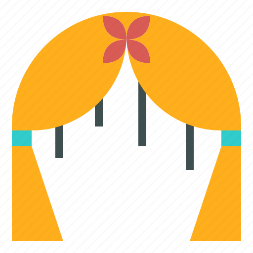 arch, ceremony, decoration, floral, wedding icon