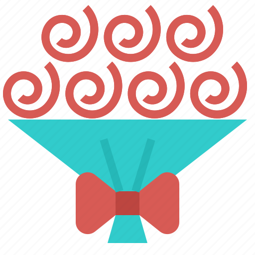 bouquet, celebration, flower, gift, wedding icon