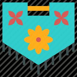 decoration, display, flag, floral, petal, team icon